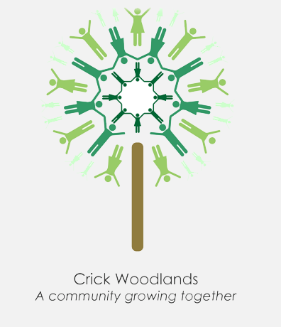 Crick Woodlands Logo