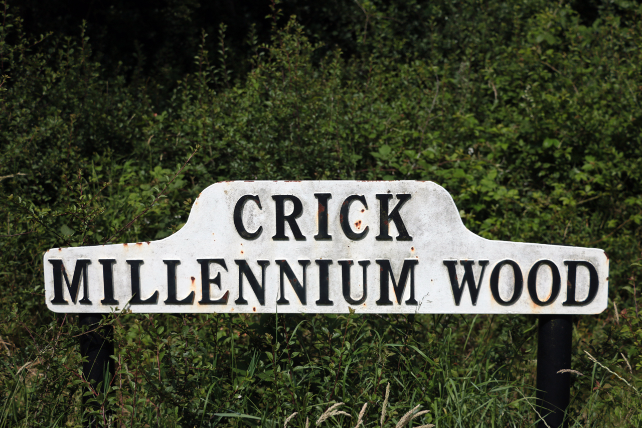 Millennium Wood Sign 1280px